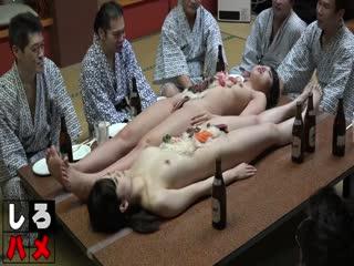 [人体宴]女体盛宴,你懂的