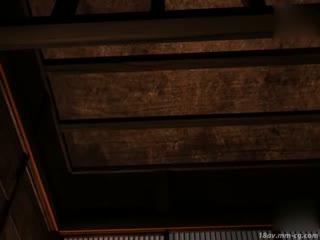 [3D][cossacc]天国よりも天国な村 [夜桜字幕组]...