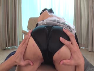 Aroused Japanese Ema Kato sucks dick and swallows
